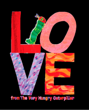 Love From the Very Hungry Caterpillar book cover