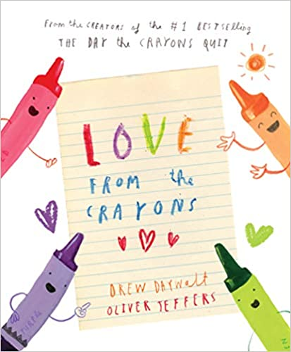 Love From the Crayons book cover