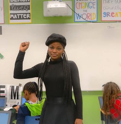 black teachers on instagram