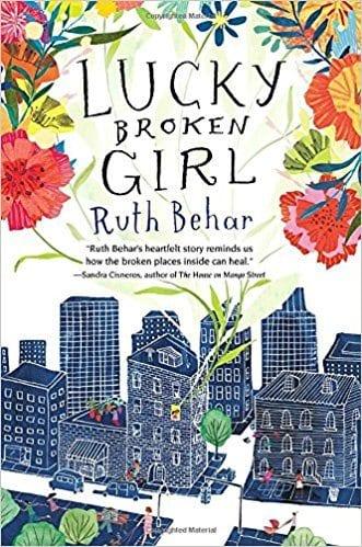 Lucky Broken Girl book cover.