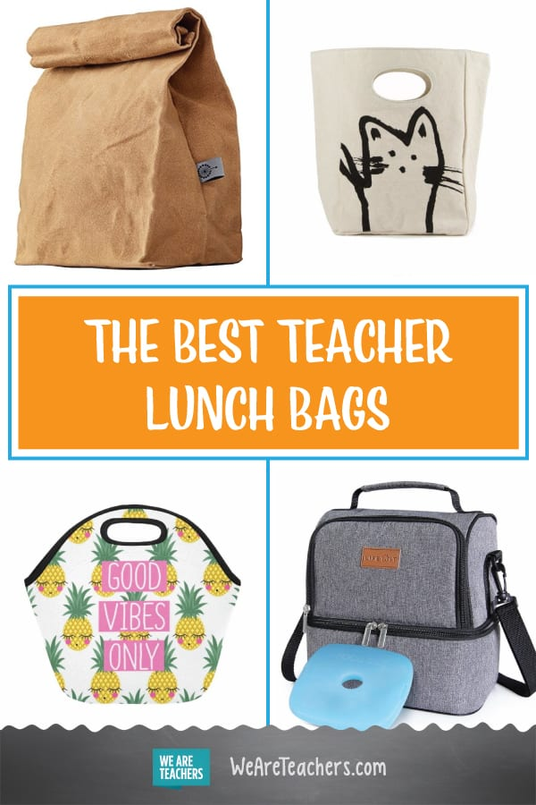 The Best Teacher Lunch Bags
