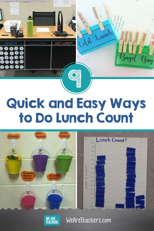 9 Quick and Easy Ways to Do Lunch Count