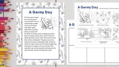 a germy day activity