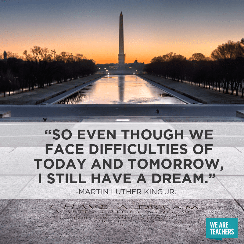 25 Martin Luther King Quotes To Celebrate Mlk Day And Year Round