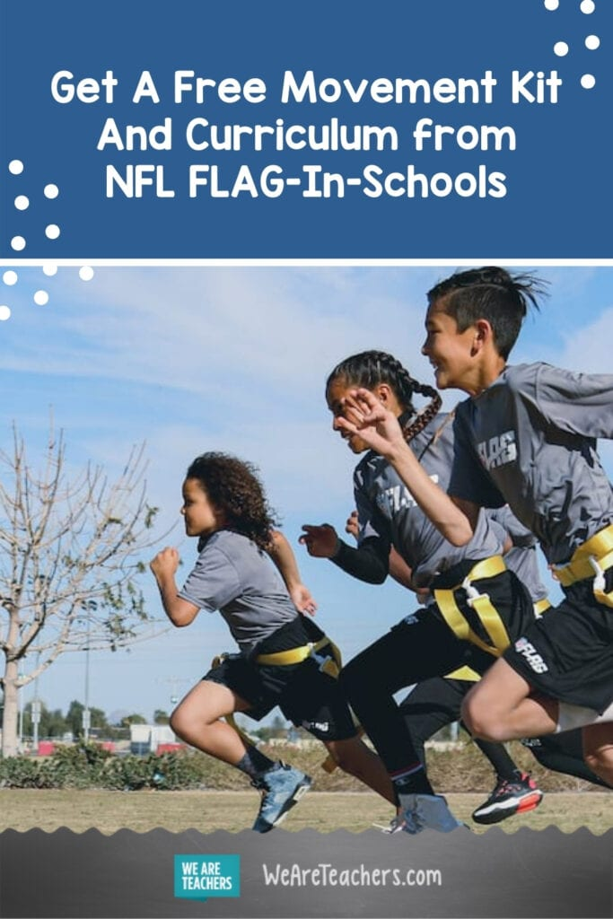Get A Free Movement Kit And Curriculum from NFL FLAG-In-Schools! Here's What's Inside.