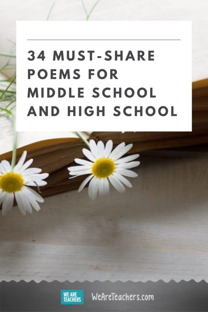 34 Must-Share Poems for Middle School and High School