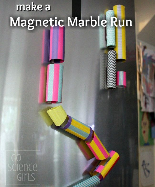 Magnet Hacks Marble Run Go Science Girls