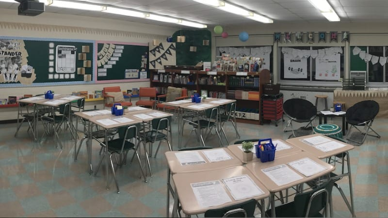 How I Created Flexible Seating for Next to Nothing