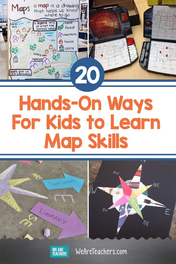 20 Hands-On Ways For Kids to Learn Map Skills