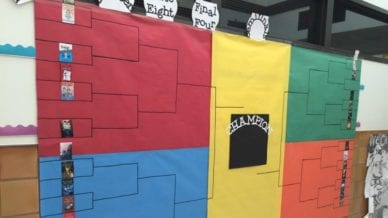 Try This March Madness Book Bracket