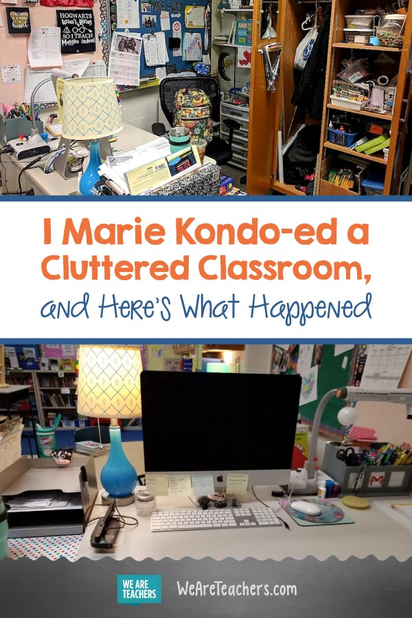 I Marie Kondo-ed a Cluttered Classroom, and Here's What Happened