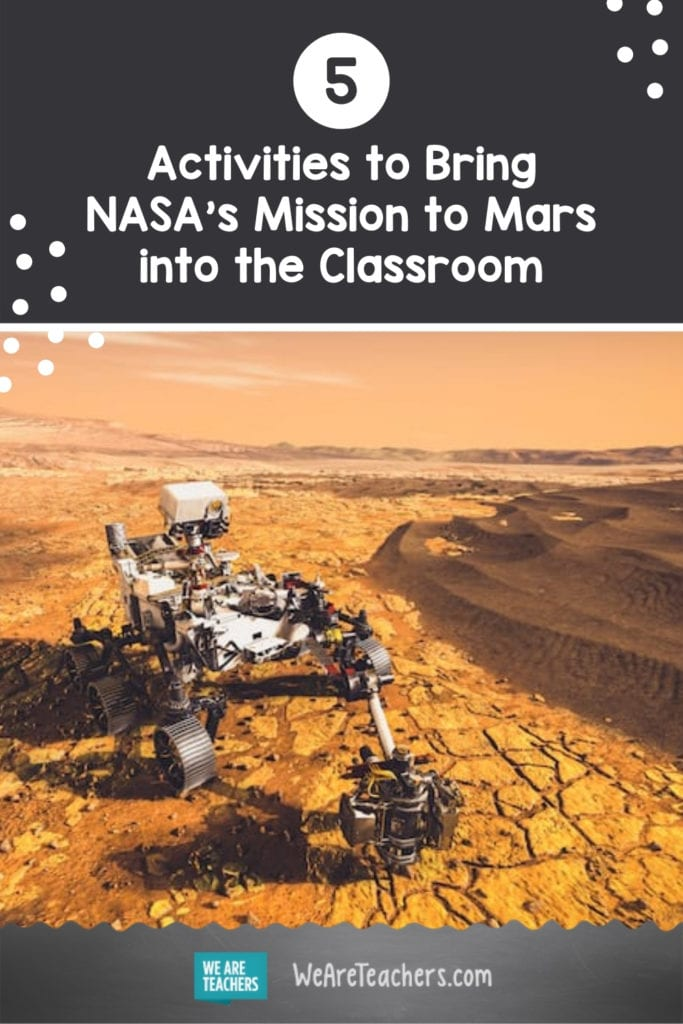 5 Activities to Bring NASA's Mission to Mars into the Classroom