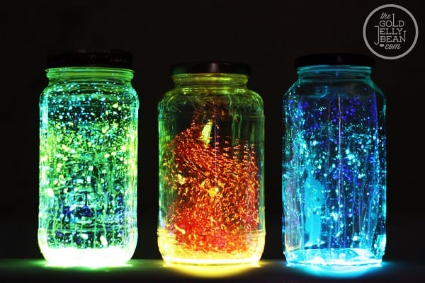 Mason Jars Lights The Gold Jellybean