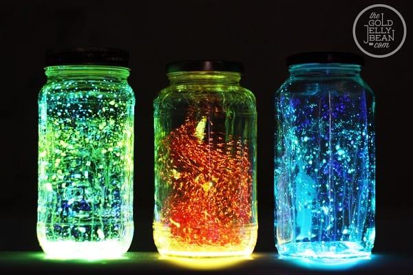 Mason Jars Lights The Gold Jellybean