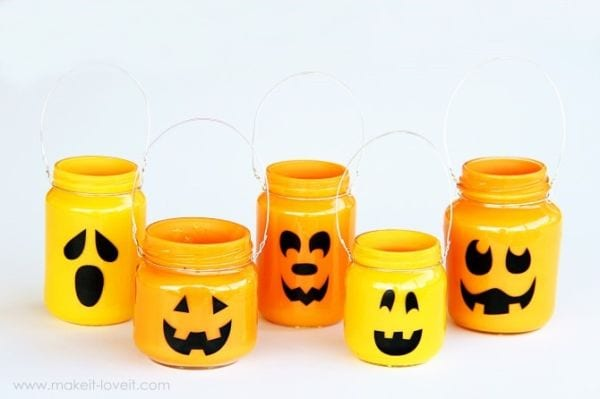 Mason Jars Pumpkins Mason Jar Crafts Love