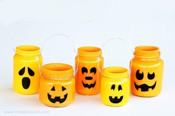 Mason Jars Pumpkins Mason Jar Crafts Love