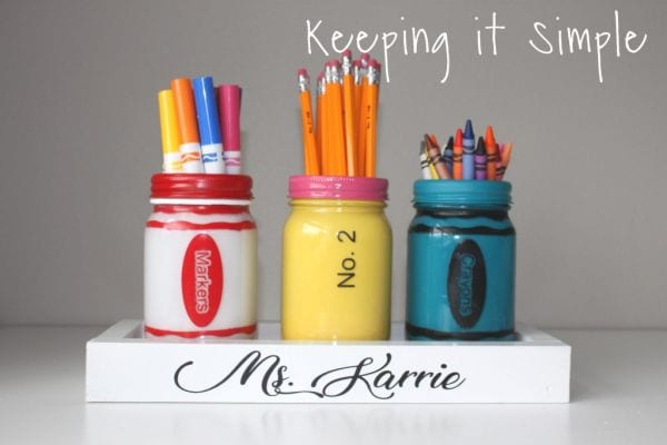 Creative Ways To Use Mason Jars In Your Classroom