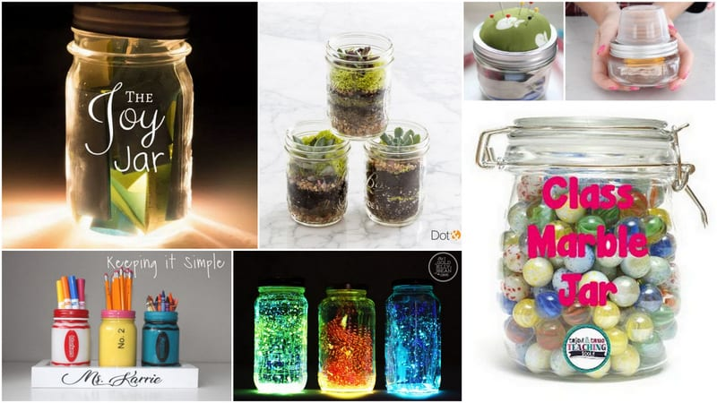 Creative Ways To Use Mason Jars In Your Classroom