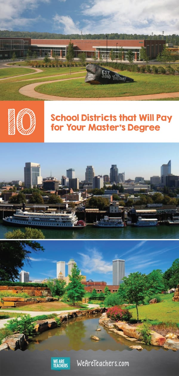 10 School Districts that Will Pay for Your Master's Degree