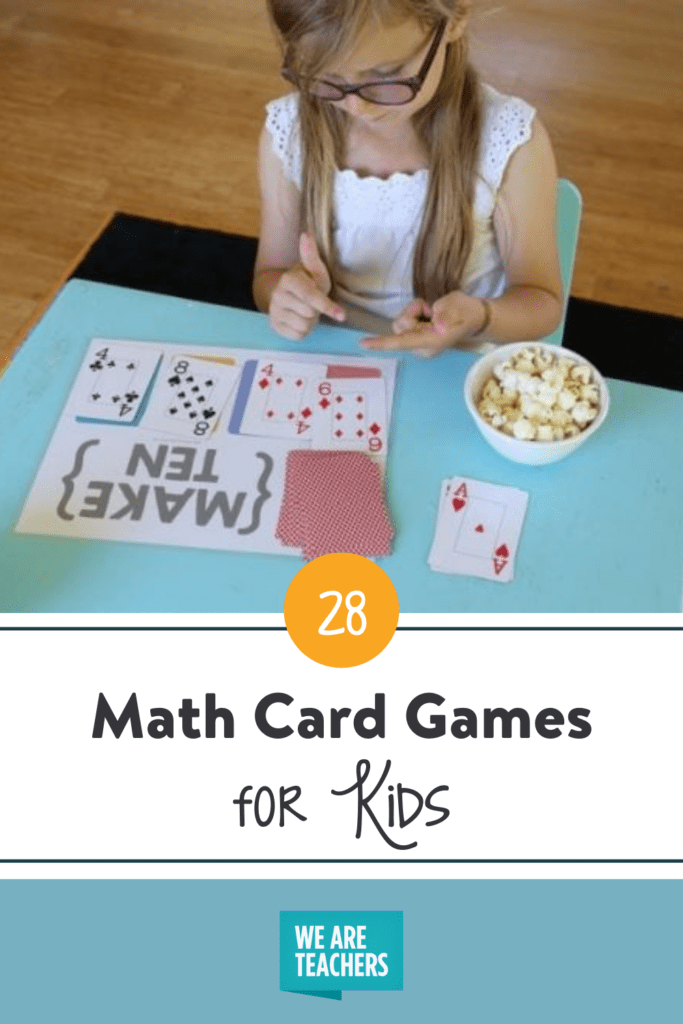 28 Math Card Games That Turn Students into Aces