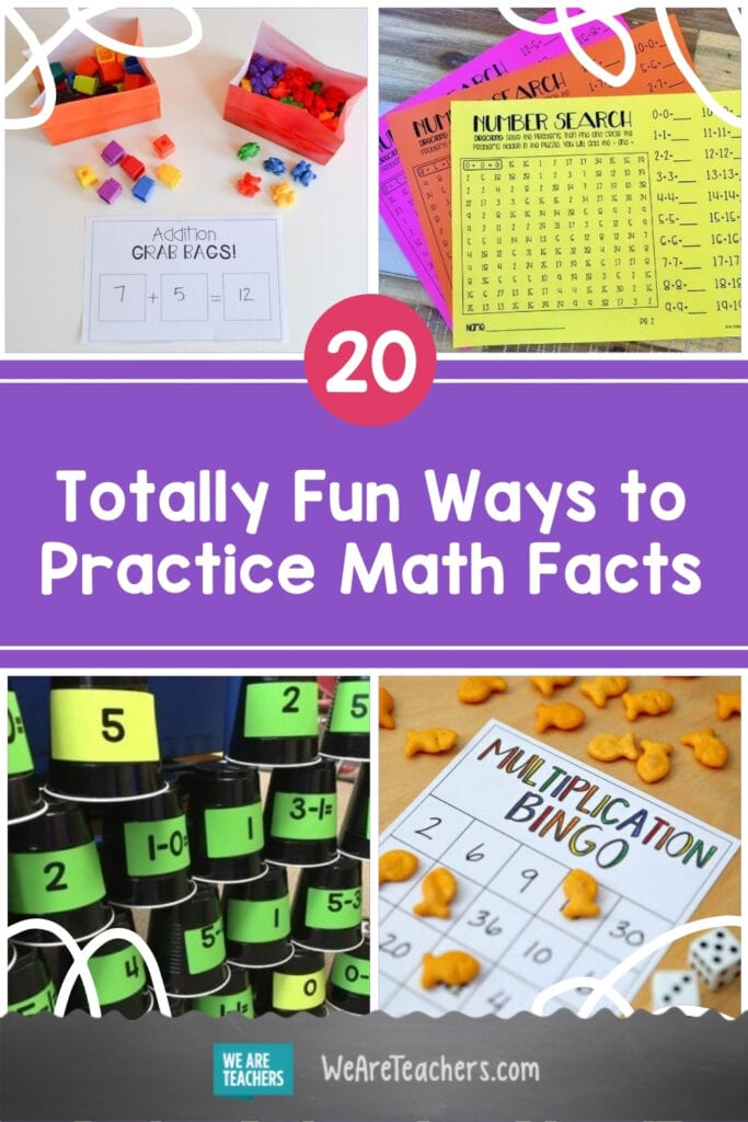 20 Totally Fun Ways to Practice Math Facts