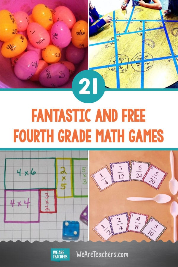 21 Fantastic and Free Fourth Grade Math Games