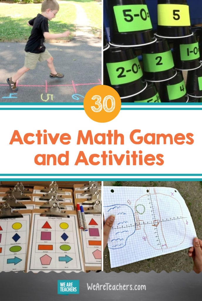 30 Active Math Games and Activities for Kids Who Love To Move
