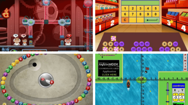 Game Screenshots – The Best Online Interactive Math Games for Every Grade Level