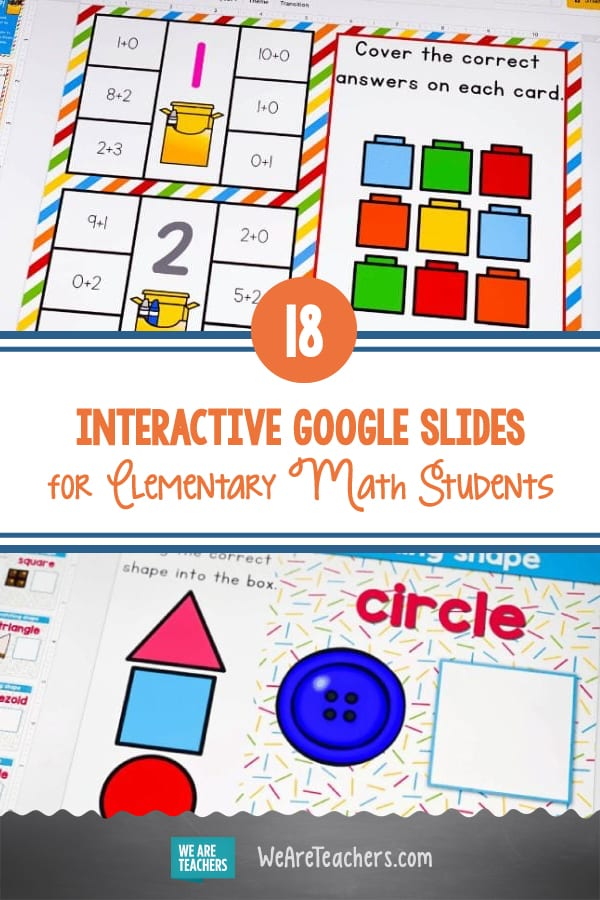 18 Free and Fun Interactive Google Slides for Elementary Math Students
