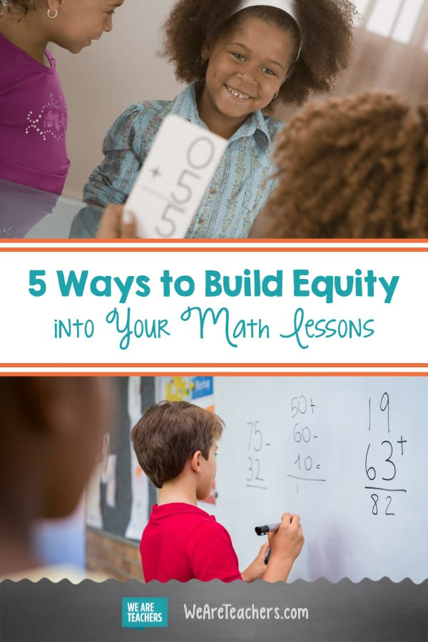 5 Ways to Build Equity into Your Math Lessons
