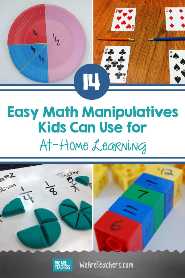 14 Easy Math Manipulatives Kids Can Use for At-Home Learning