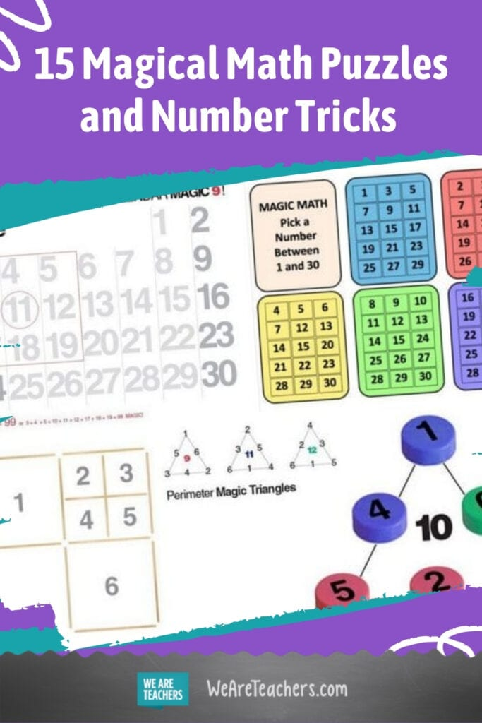 15 Magical Math Puzzles and Number Tricks To Wow Your Students