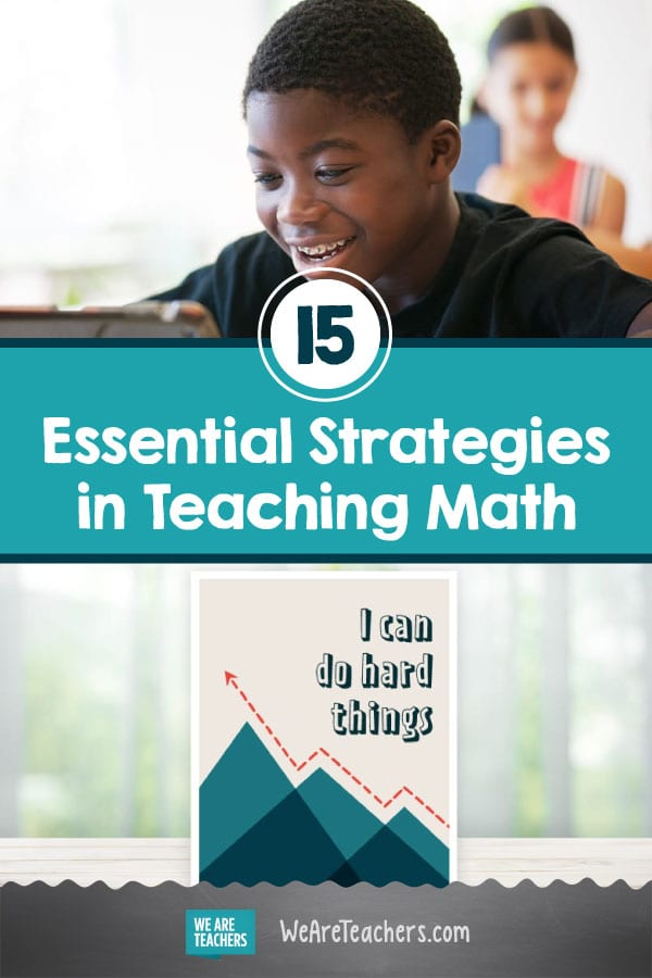 15 Essential Strategies in Teaching Math