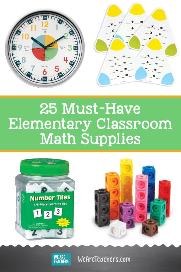 25 Must-Have Elementary Classroom Math Supplies That You (and the Kids!) Can Count On