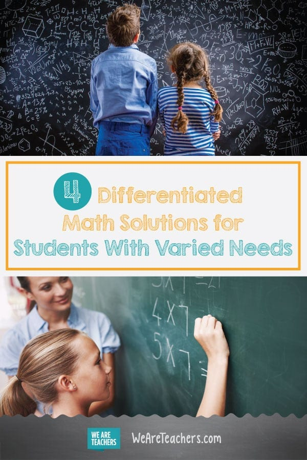 4 Differentiated Math Solutions for Students With Varied Needs