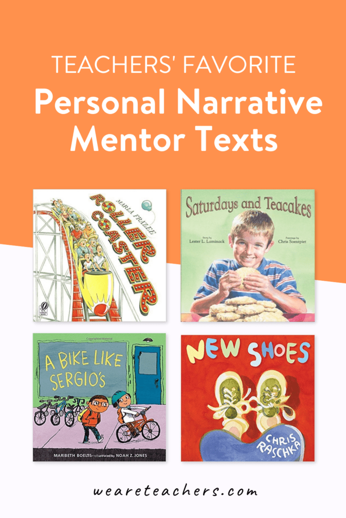 The Big List of Mentor Texts for Narrative Writing in Elementary School