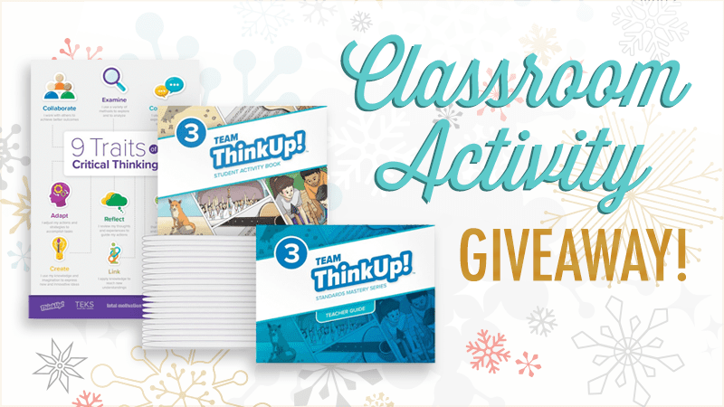 Critical Thinking Skills Pack Giveaway (and Free Poster!)