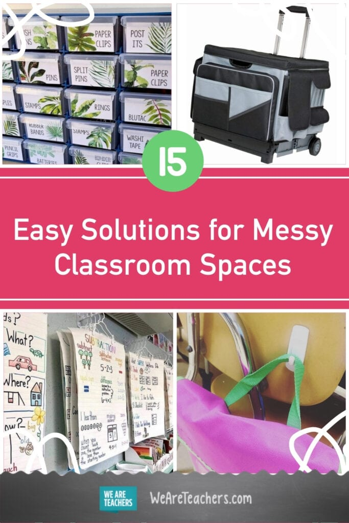 15 Easy Solutions for Messy Classroom Spaces