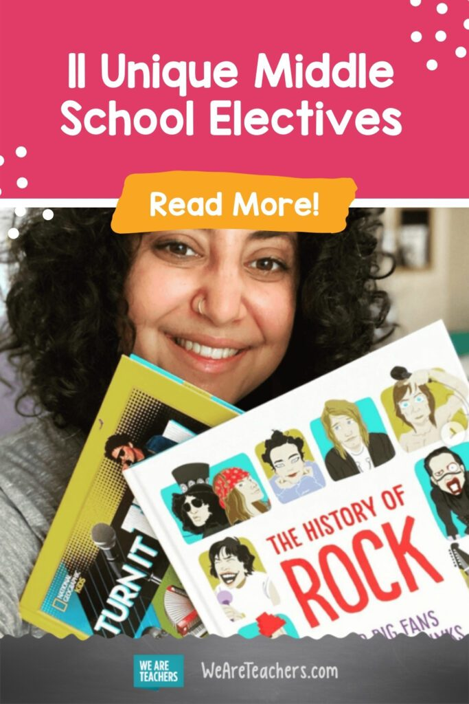 11 Unique Middle School Electives that Students and Teachers Love