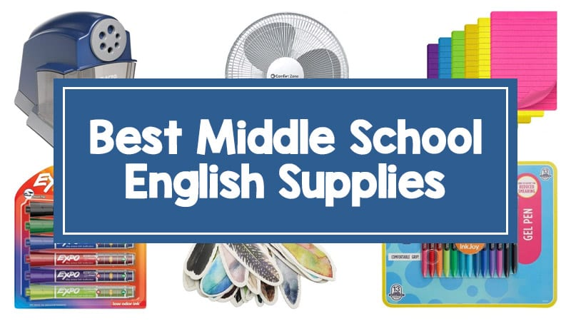 Middle School English Supplies