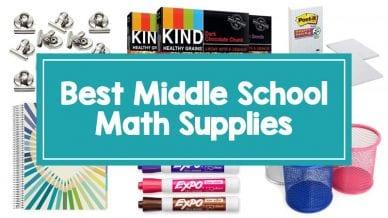 Middle School Math Supplies