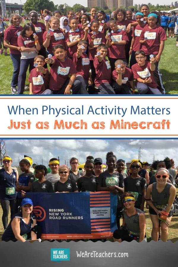 When Physical Activity Matters Just as Much as Minecraft