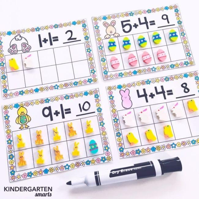 Mini Eraser Activities Kindergarten Smarts