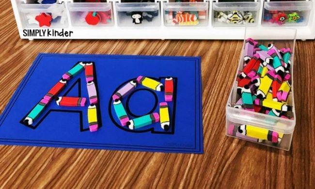 Activités Mini Eraser Simply Kinder