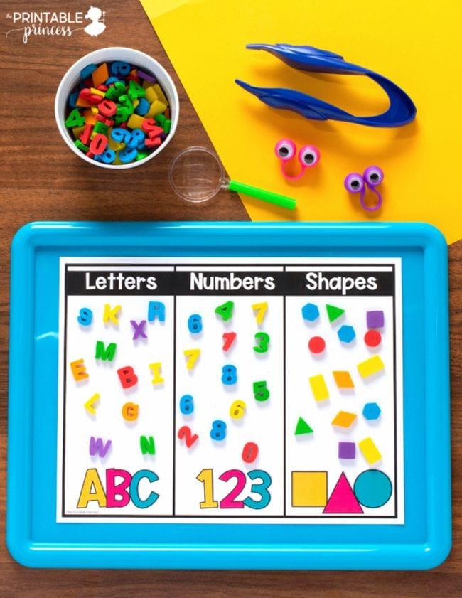 Mini Eraser Activities The Printable Princess