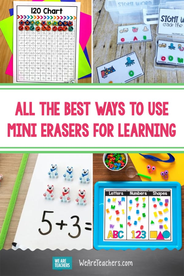 All the Best Ways to Use Mini Erasers for Learning
