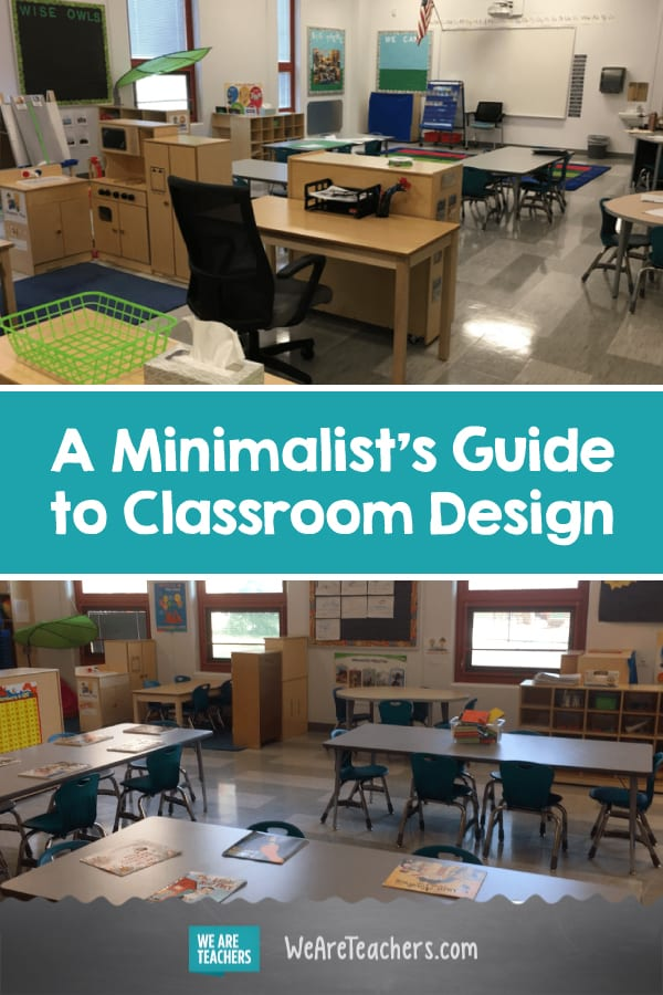 A Minimalist's Guide to Classroom Design