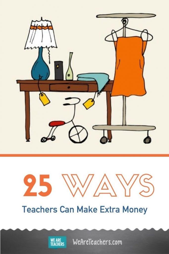 25 Ways Teachers Can Make Extra Money