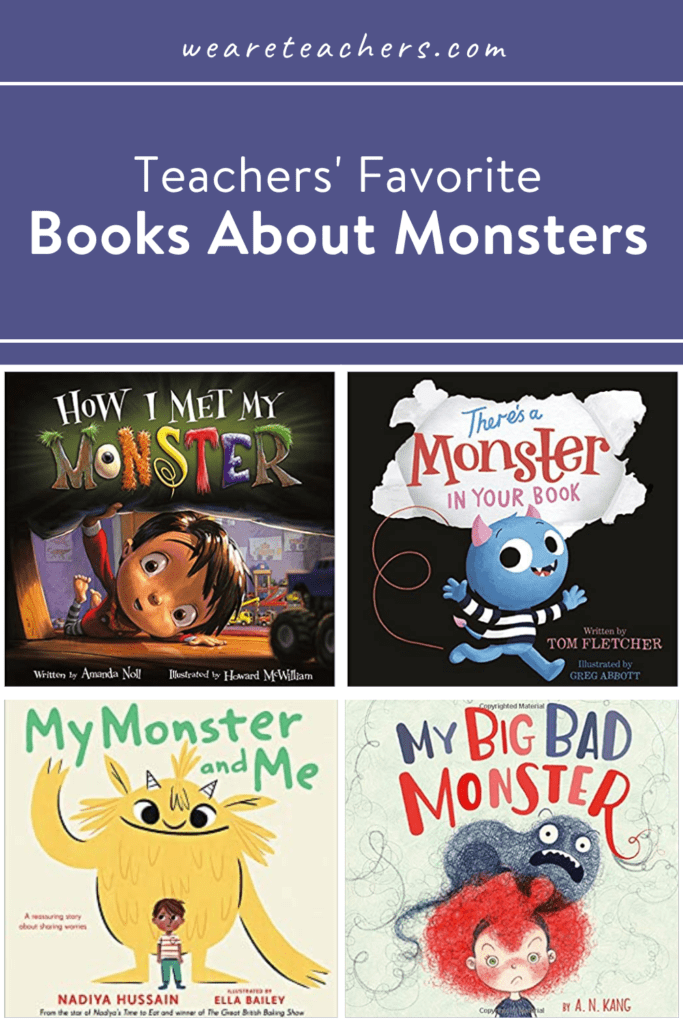 34 Scarily Fantastic Kids Books About Monsters
