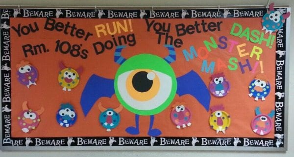 Monster Mash Bulletin Board